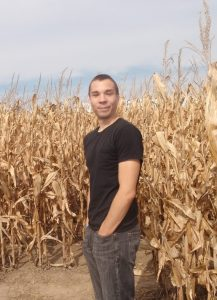 In the ancestral corn fields of my youth...